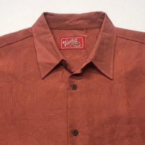 WOODY's RETRO LOUNGE Men's 2XL Casual Shirt